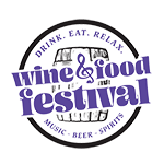 Drink. Eat. Relax. Wine & Food Festival | Hunt Valley, MD Logo